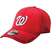New Era Men's Washington Nationals 39Thirty Neo Red Stretch Fit Hat