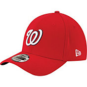 New Era Men's Washington Nationals 39Thirty Classic Red Stretch Fit Hat