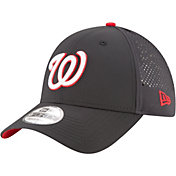 New Era Men's Washington Nationals 9Forty Perf Pivot Adjustable Hat