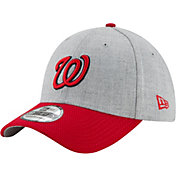 New Era Men's Washington Nationals 39Thirty Change Up Redux Grey Stretch Fit Hat