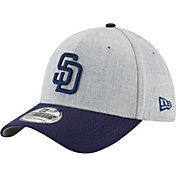 New Era Men's San Diego Padres 39Thirty Change Up Redux Grey Stretch Fit Hat