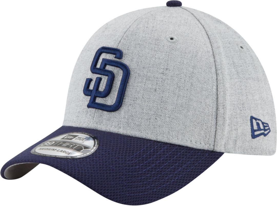 025e96af9 New Era Men's San Diego Padres 39Thirty Change Up Redux Grey Stretch Fit Hat