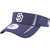 New Era Men's San Diego Padres Navy Adjustable Speed Visor