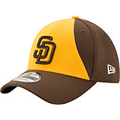 New Era Men's San Diego Padres 39Thirty Classic Navy Stretch Fit Hat
