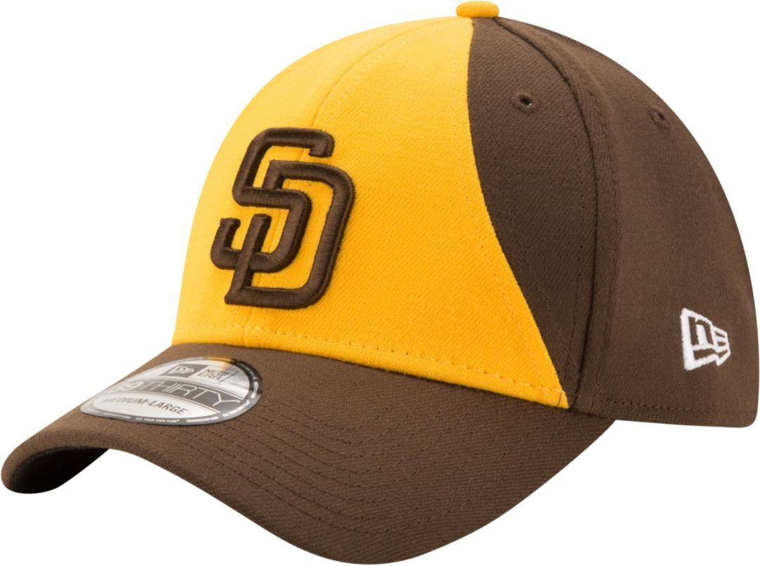 new styles 7aa71 aa107 New Era Men s San Diego Padres 39Thirty Classic Stretch Fit Hat 1