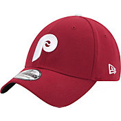 New Era Men's Philadelphia Phillies 39Thirty Cooperstown Classic Maroon Stretch Fit Hat