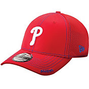 New Era Men's Philadelphia Phillies 39Thirty Neo Red Stretch Fit Hat