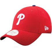 New Era Men's Philadelphia Phillies Red 9Forty Pinch Hitter Adjustable Hat