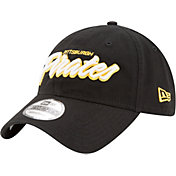 New Era Women's Pittsburgh Pirates 9Twenty Script Black Adjustable Hat