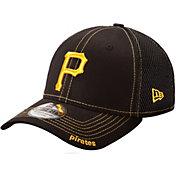 New Era Men's Pittsburgh Pirates 39Thirty Neo Black Stretch Fit Hat
