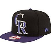 New Era Men's Colorado Rockies 9Fifty Grand Logo Adjustable Hat