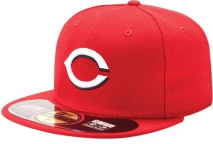 new product eba7c 78e7a ... new era mens cincinnati reds 59fifty home red authentic hat.  noimagefound