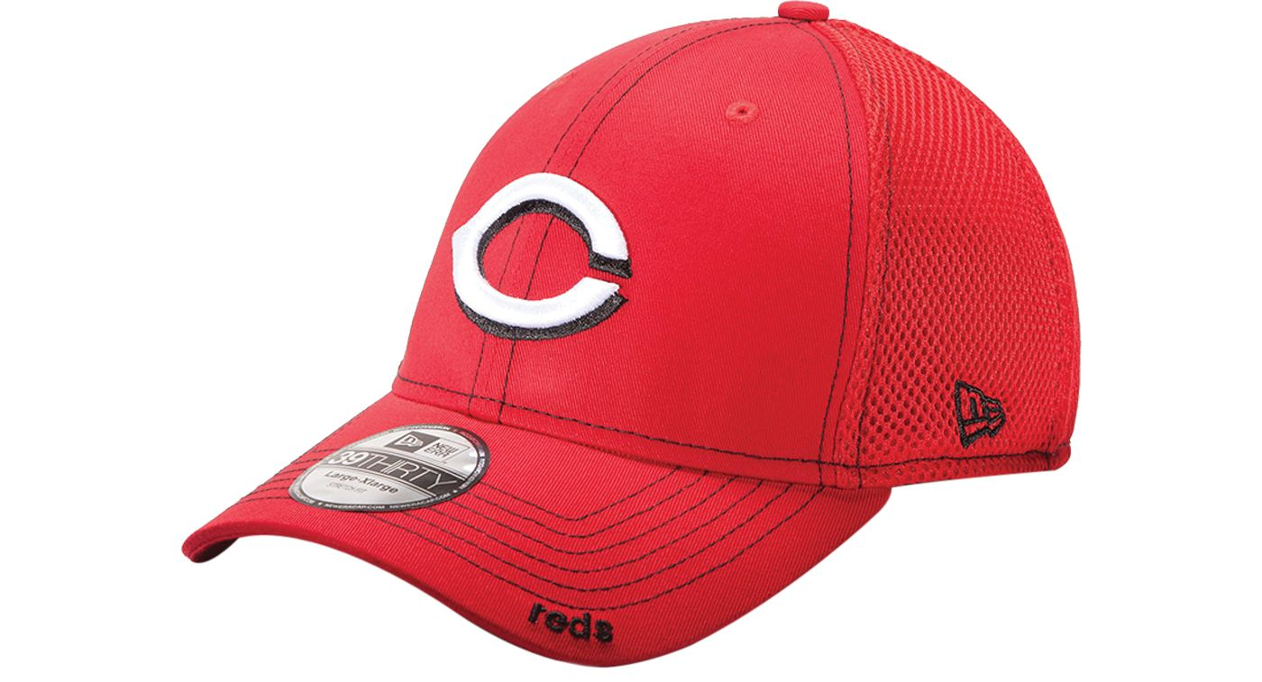 New Era Men's Cincinnati Reds 39Thirty Neo Red Stretch Fit Hat