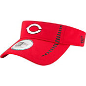 New Era Men's Cincinnati Reds Red Adjustable Speed Visor