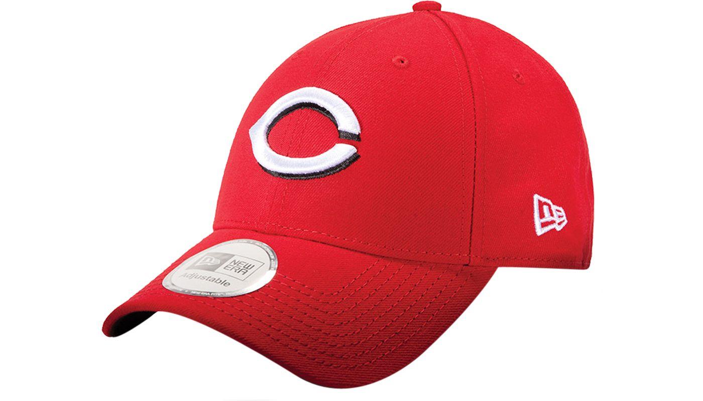 New Era Men's Cincinnati Reds Scarlet 9Forty Pinch Hitter Adjustable Hat