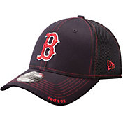 New Era Men's Boston Red Sox 39Thirty Neo Navy Stretch Fit Hat