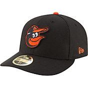 New Era Men's Baltimore Orioles 59Fifty Diamond Era Black Low Crown Fitted Hat
