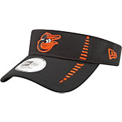 New Era Men's Baltimore Orioles Black Adjustable Speed Visor