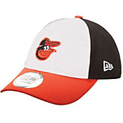 New Era Men's Baltimore Orioles 9Forty Pinch Hitter Black Adjustable Hat