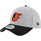 New Era Men's Baltimore Orioles 39Thirty Change Up Redux Grey Stretch Fit Hat