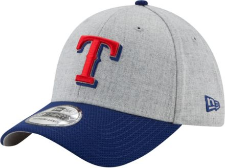 online store f0b5d 14b8a New Era Men  39 s Texas Rangers 39Thirty Change Up Redux Grey Stretch Fit