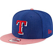 New Era Men's Texas Rangers 9Fifty Heather Action Adjustable Hat