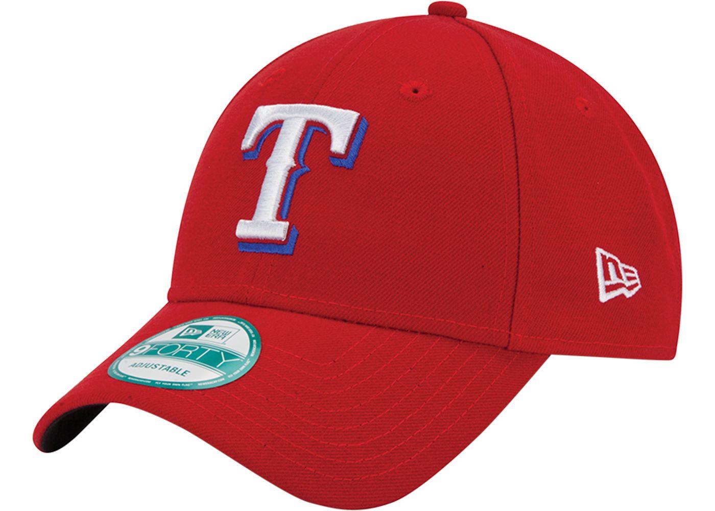 New Era Men's Texas Rangers 9Forty Red Adjustable Hat