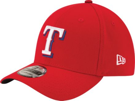 e90910da904ad New Era Men  39 s Texas Rangers 39Thirty Classic Red Stretch ...