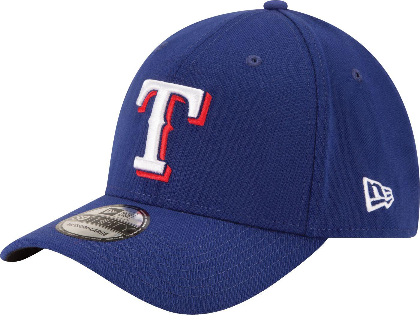 New Era Men's Texas Rangers 39Thirty Royal Classic Stretch Fit Hat