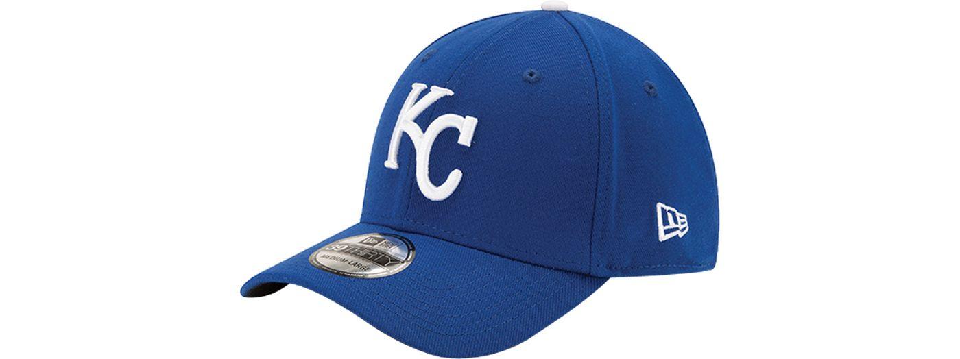 New Era Men's Kansas City Royals 39Thirty Classic Royal Stretch Fit Hat
