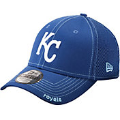 New Era Men's Kansas City Royals 39Thirty Neo Royal Stretch Fit Hat