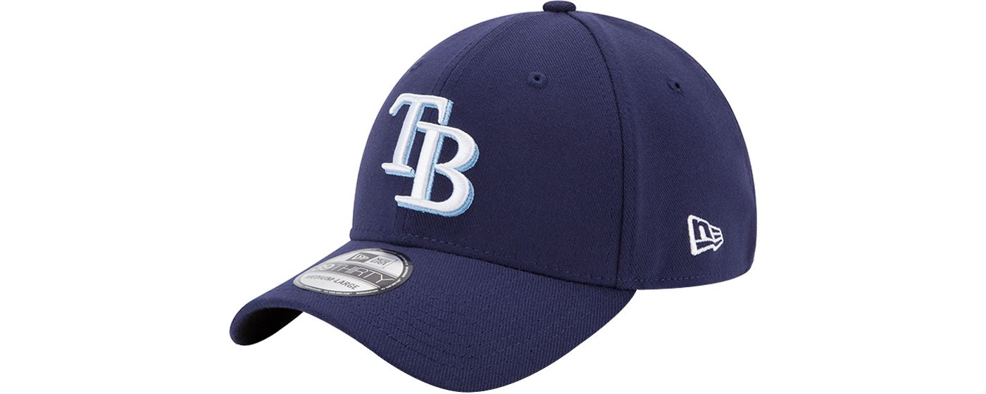 New Era Men's Tampa Bay Rays 39Thirty Classic Navy Stretch Fit Hat
