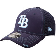 New Era Men's Tampa Bay Rays 39Thirty Neo Navy Stretch Fit Hat