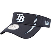 New Era Men's Tampa Bay Rays Navy Adjustable Speed Visor
