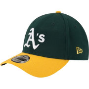 New Era Men's Oakland Athletics 39Thirty Classic Green Stretch Fit Hat