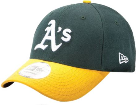 eca8073a2d7 New Era Men  39 s Oakland Athletics 9Forty Pinch Hitter Green Adjustable Hat