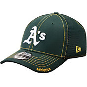 New Era Men's Oakland Athletics 39Thirty Green Neo Stretch Fit Hat