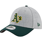 New Era Men's Oakland Athletics 39Thirty Change Up Redux Grey Stretch Fit Hat