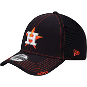 New Era Men's Houston Astros 39Thirty Navy Neo Stretch Fit Hat