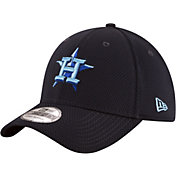 New Era Men's Houston Astros 39Thirty Tone Tech Navy Stretch Fit Hat