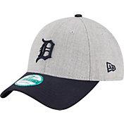 New Era Men's Detroit Tigers 9Forty Grey Adjustable Hat