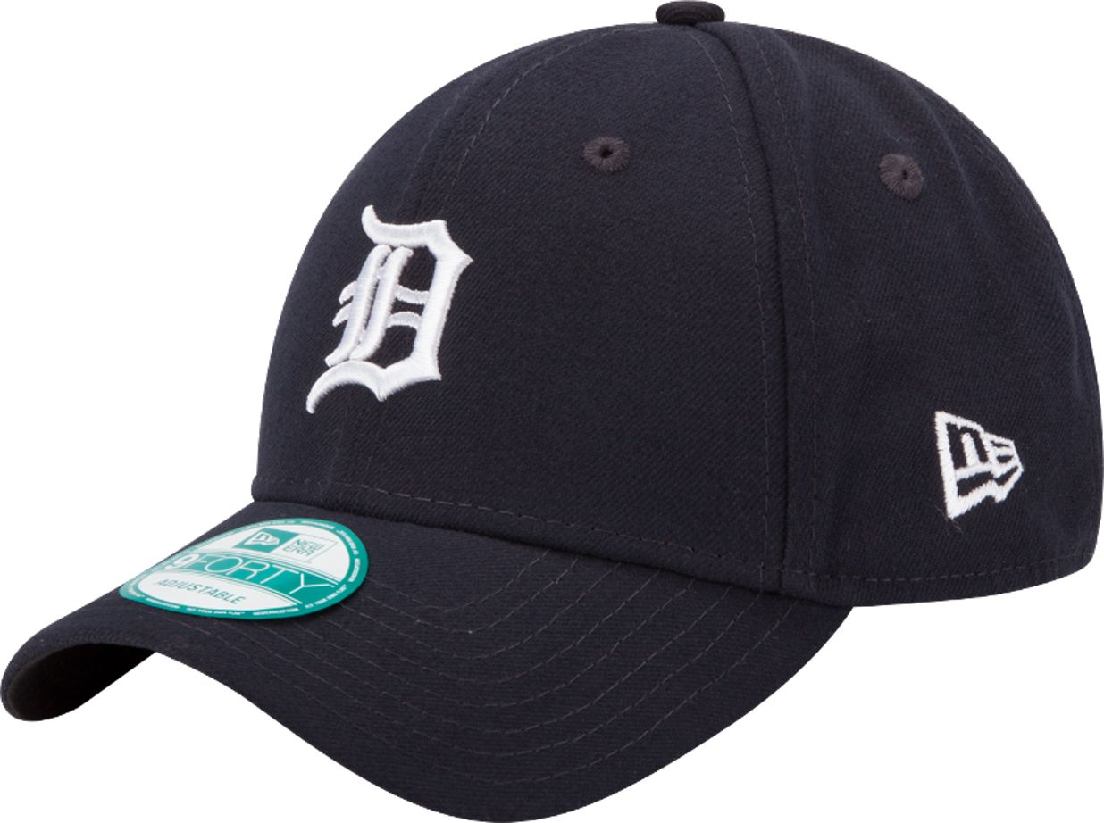 best sneakers 027e7 75080 ... ireland new era mens detroit tigers 9forty league navy adjustable hat  1f5a6 c3685