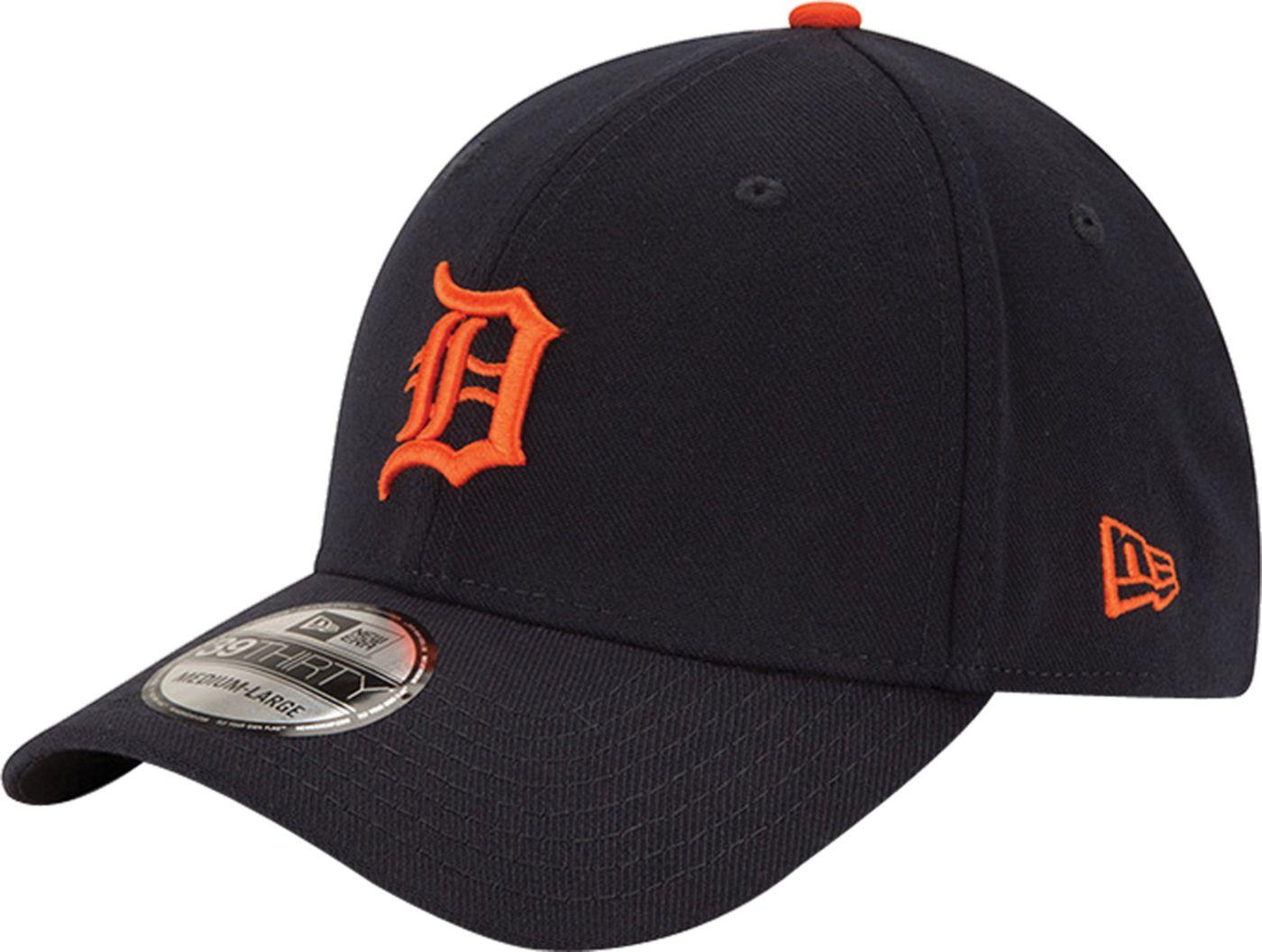 New Era Men's Detroit Tigers 39Thirty Alternate Classic Navy Stretch Fit Hat