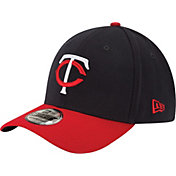New Era Men's Minnesota Twins 39Thirty Alternate Classic Navy Stretch Fit Hat