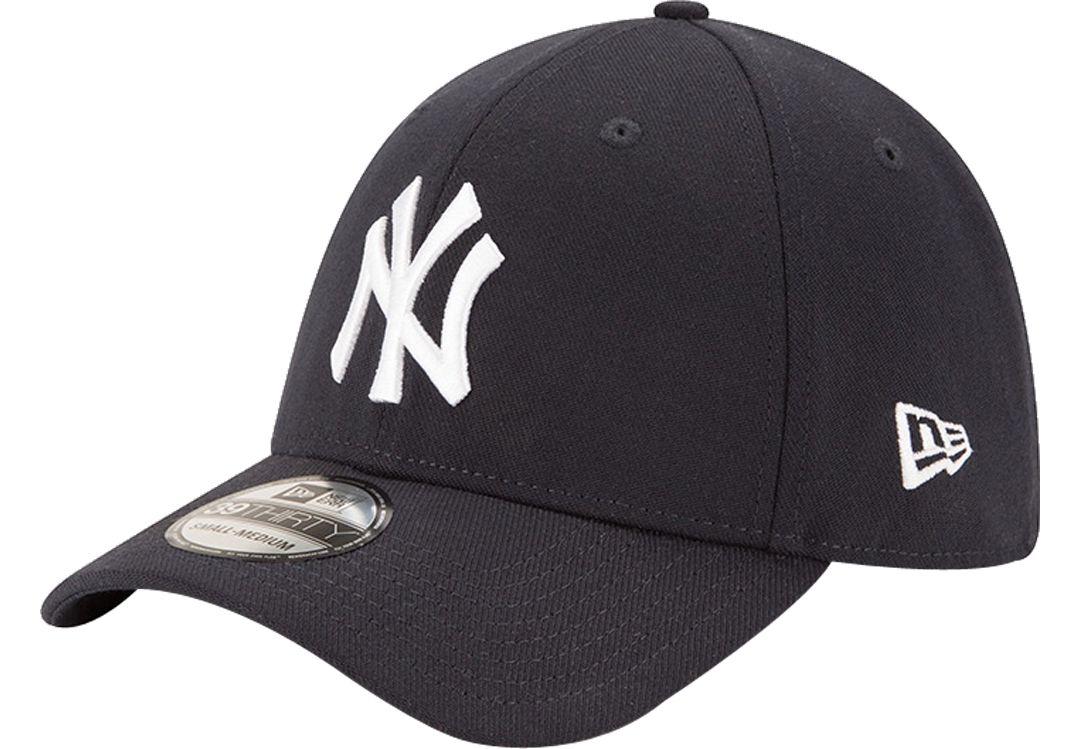 New Era Men's New York Yankees 39Thirty Classic Navy Stretch Fit Hat