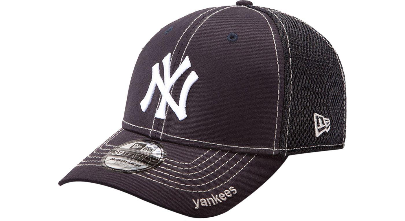 New Era Men's New York Yankees 39Thirty Neo Navy Stretch Fit Hat