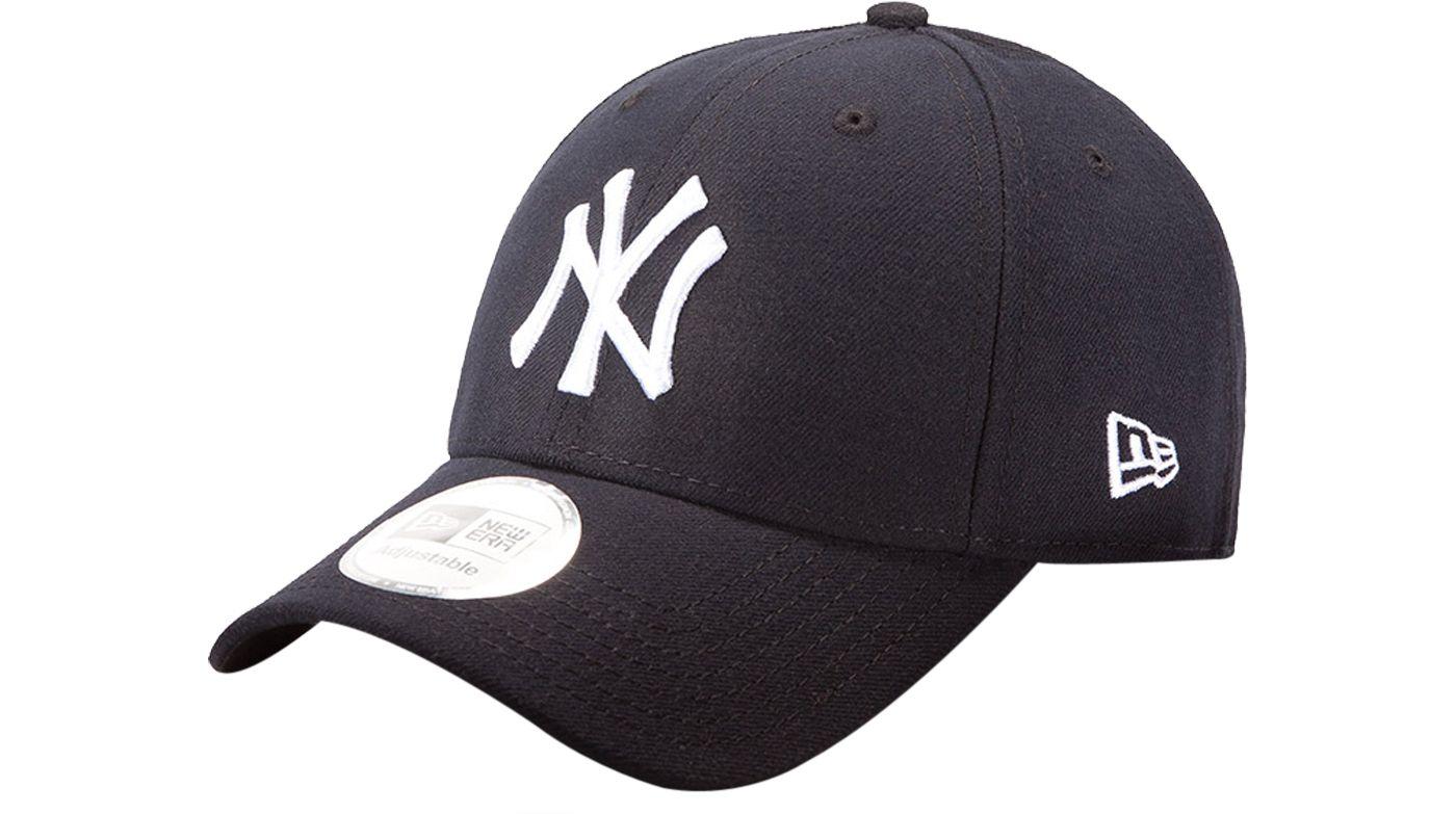 New Era Men's New York Yankees 9Forty Pinch Hitter Navy Adjustable Hat