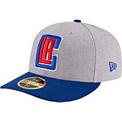 New Era Men's Los Angeles Clippers 59Fifty Low Crown Grey Fitted Hat