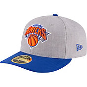 New Era Men's New York Knicks 59Fifty Low Crown Grey Fitted Hat