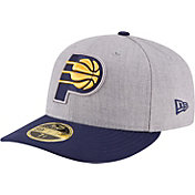 New Era Men's Indiana Pacers 59Fifty Low Crown Grey Fitted Hat
